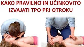Najpogostejši ukrepi prve pomoči pri otrocih in dojenčkih