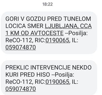 Gozdni požar - PGD Prekopa Čeplje Stopnik