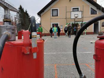 Priprave na kviz gasilske mladine - PGD Prekopa Čeplje Stopnik