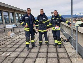 Prekopski gasilci med najhitrejšimi na hmezadovi stavbi