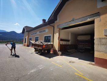 Gradbena dela v gasilskem domu v Prekopi