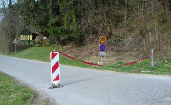 Zapora nekaterih cest in parkirišč v občini Ig