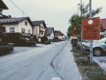 Podaljšanje zapore ulice Banija na Igu