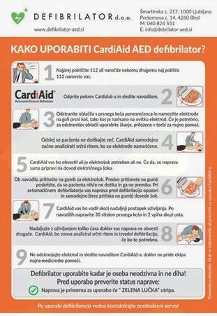Defibrilatorji odslej na dostopnih lokacijah