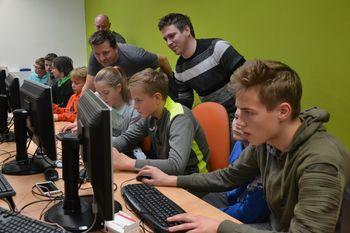 Zaključna delavnica programiranja v Polhovem Gradcu
