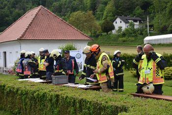 Kar 24 dogodkov na eni gasilski vaji