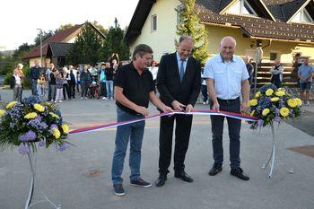 Del naselje Hruševo z novimi pridobitvami