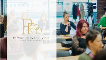 Spletno izobraževanje PRAVNO FORMALNI VIDIKI ORGANIZACIJE DOGODKOV (PFVOD)