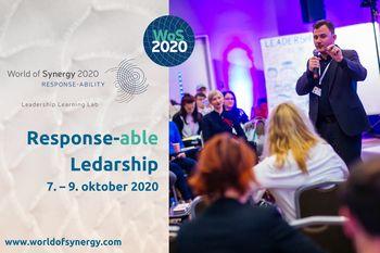 Mednarodna izkustvena konferenca o voditeljstvu z naslovom World of Synergy: Response-ability