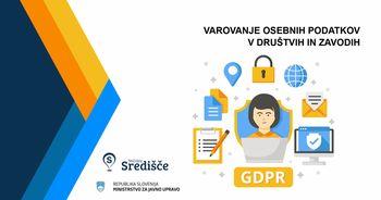Varovanje osebnih podatkov v društvih in zavodih