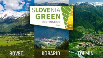Občine Bovec, Kobarid in Tolmin prejemnice zlatega znaka