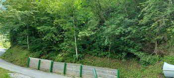 Zapora ceste Breginj - Logje - Robidišče