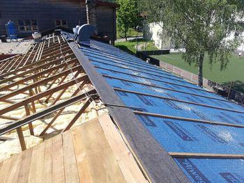 Sanacija strehe na kobariški osnovni šoli
