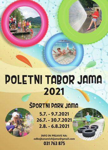 Poletni tabor v športnem parku Jama