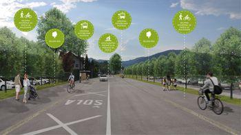 Javna predstavitev kolesarske povezave