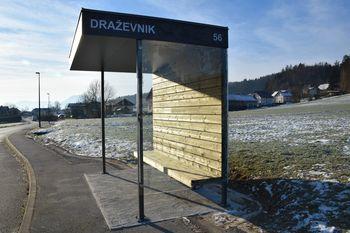 Nova avtobusna postaja v Draževniku