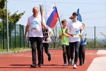 Obiskala nas je slovenska olimpijska bakla
