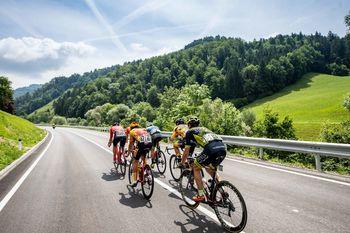 Žiga Jerman dosegel odličen rezultat na 5. etapi kolesarske dirke po Sloveniji