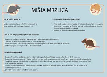 Porast mišje mrzlice v Sloveniji