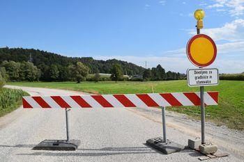 Ne spreglejte aktualnih zapor cest v Občini Dobrova - Polhov Gradec