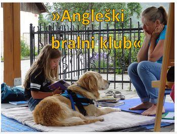 """""""Angleški"""" bralni klub psičke Honey in kako vzgajati kužka"""