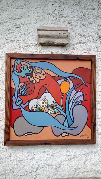 Okno Radogost – Ivonaldo Veloso de Melo, brazilski slikar (1943–2016)