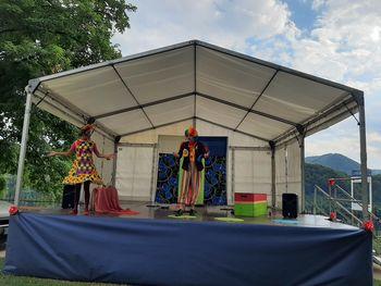 Otroška predstava Zvezdana in Zvonko v Cirkusu naj zares