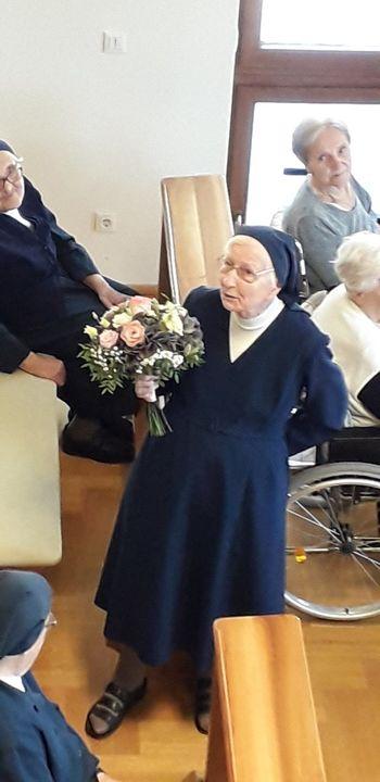 70 let poklica sestre Cecilije Rode