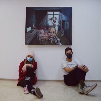 Živela ustvarjalnost: Urša Halilovič in Aljaž Kitak