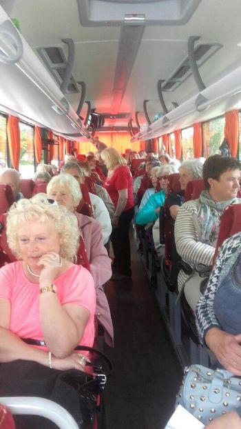Romanje starejših na Brezje