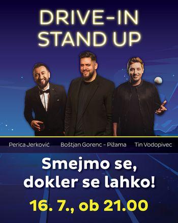DRIVE-IN stand-up večer