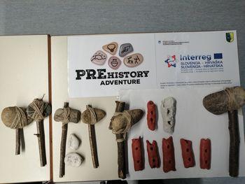 Otvoritev razstave Prazgodovinskega mesta