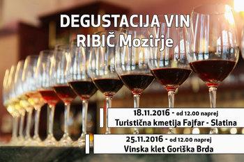 Vabljeni na Dneve lignjev in Degustacijo vin v okrepčevalnico RIBIČ Mozirje