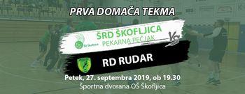 PRVA DOMAČA TEKMA: ŠRD Škofljica Pekarna Pečjak - RD Rudar