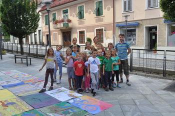 Poletna šola kreativnosti za najmaljše v Mladinskem centru Dravinjske doline
