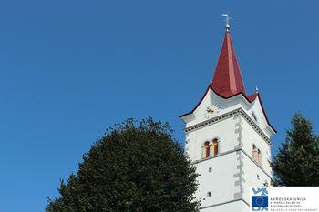 Drugo čiščenje gvana iz zvonika cerkve sv. Marjete v Planini