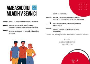 Ambasadorji mladih v Sevnici