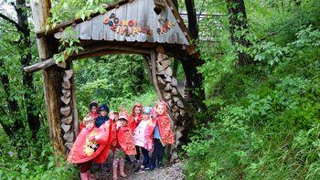 Obisk Polhovega doživljajskega parka