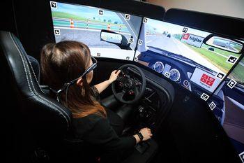 TRIGLAV LAB - Virtualna vožnja na DRAJV simulatorju