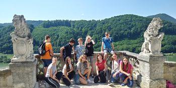 Krmeljski sedmošolci na Gradu Sevnica