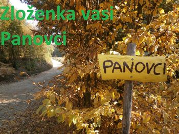 ZLOŽENKA vasi PANOVCI