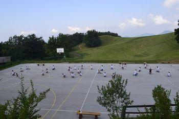 126 otrok iz 38 slovenskih krajev na Angleškem taboru na Lisci