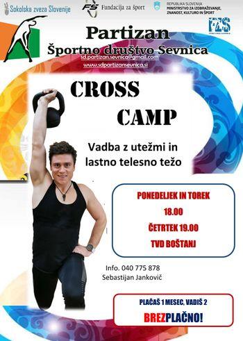 Začetek vadb za moške- CROSS CAMP