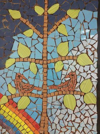 V prostorih MC Sevnica nastaja stenski mozaik