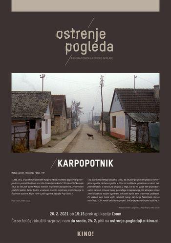 KINO!/OP spletni filmski krožek XIV.: Karpopotnik