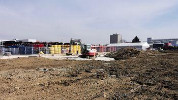 Nadaljevanje gradbenih del v sklopu II. faze v PC Žalec - južno od železnice