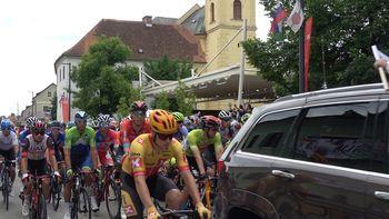 V Žalcu štart 2. etape kolesarske dirke