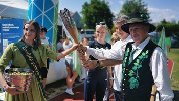 Video prispevek: Olimpijska bakla v Občini Žalec
