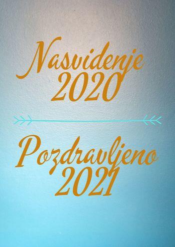 Nasvidenje leto 2020