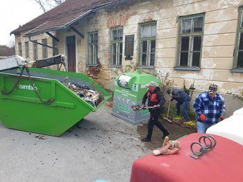 Zahvala vsem sodelujočim na čistilni akciji v Dobju